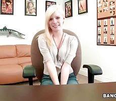 Young Blonde Elaina Raye Starts Porn Career 2