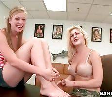 Young Blondes Are Stripping For Your Joy 1
